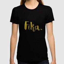 Golden fika T-shirt