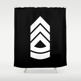 Sergeant first class Shower Curtain