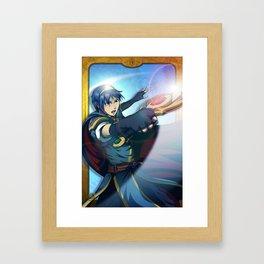 The Great Hero-King Framed Art Print