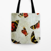 anxiety Tote Bags featuring Anxiety by lalelovesgir