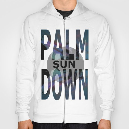 Palm Sun Down Hoody