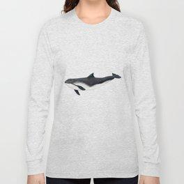 Harbour porpoise (Phocoena phocoena) Long Sleeve T-shirt