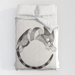 Cat Loop Comforters