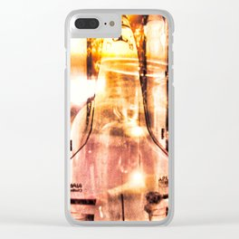 """""""Light In A Bottle"""" Clear iPhone Case"""