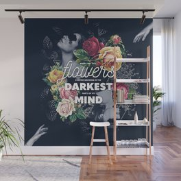 Flowers In My Mind Wall Mural