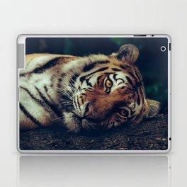 live like a tiger Laptop & iPad Skin