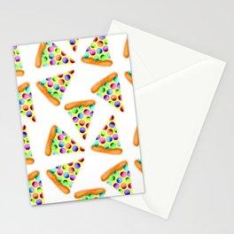 Rainbow Pizzas! Stationery Cards