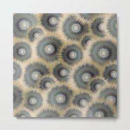 Spiked wheels Metal Print