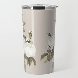 Minimal Whiterose Travel Mug
