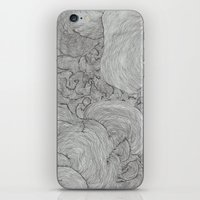 the strokes iPhone & iPod Skins featuring Strokes by Sarah Renee G.