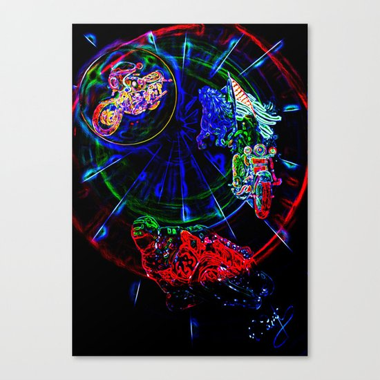 Abstract perfektion - Liberty Canvas Print