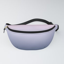 Ombre Millennial Pink Lilac Blue Gradient Pattern Fanny Pack