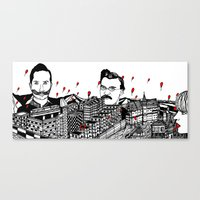 germany Canvas Prints featuring Germany by Matt Ferguson