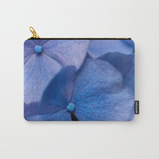 Blue Hydrangeas #2 # #art #society6 Carry-All Pouch
