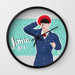 Jimin -BTS- Wall Clock