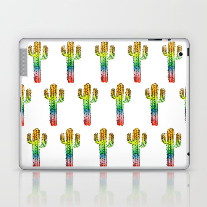 Desert Rainbow II PRIDE PATTERN Laptop & iPad Skin