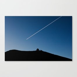 Line in the Sky Canvas Print