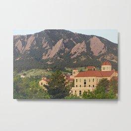 University of Colorado - Boulder Metal Print
