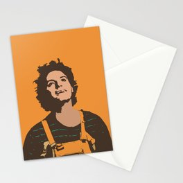 Orange Mac Stationery Cards
