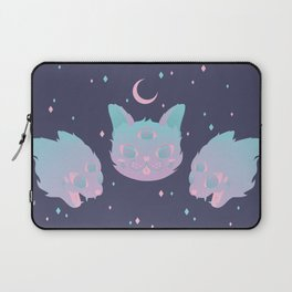 Pastel Cat Laptop Sleeve