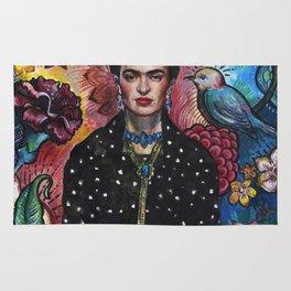 Frida Kahlo Portrait (4) Rug