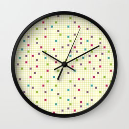 Geometric Defragmentation Wall Clock