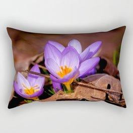 Concept nature : Et purpura claritate Rectangular Pillow