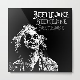 Beetle juice Metal Print