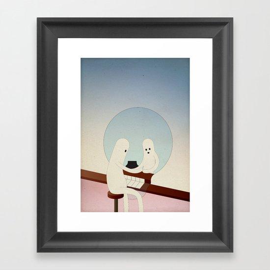 r i f l e s s o c o n d i z i o n a t o Framed Art Print