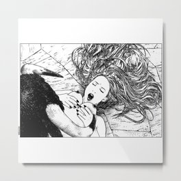 asc 459 - Le prince taureau (The bull prince) Metal Print