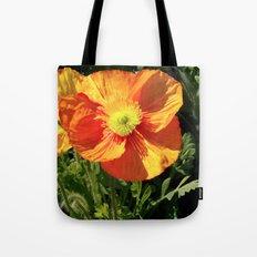Orange Poppy I Tote Bag