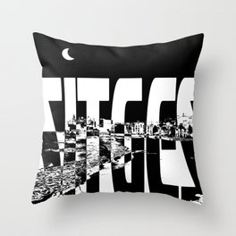 Sitges Throw Pillow