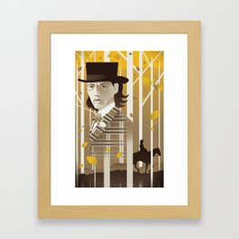Dead Man Framed Art Print