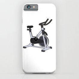 Fitness Instructor Funny Spin Indoor Cycling Gift iPhone Case