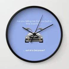 Back to the Future - Delorean Wall Clock