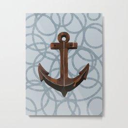Anchors Away! Metal Print