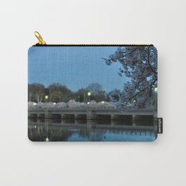Dawn and Blossoms Carry-All Pouch