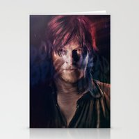 daryl Stationery Cards featuring Daryl Dixon by Guilherme Marconi