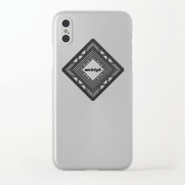 Society6 Clear iPhone Case