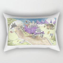 Monster Ride Rectangular Pillow