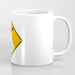 Caution: Abduction Zone Coffee Mug