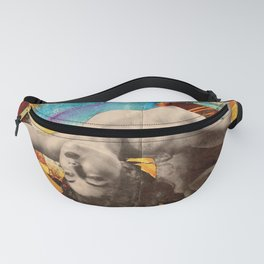 Pieced Back Together Fanny Pack