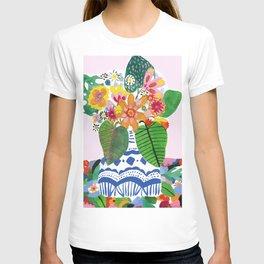 Abstract Flower Bouquet T-shirt