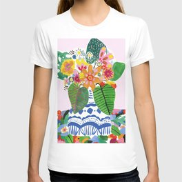 Abstract Flower Bouquet T-shirt