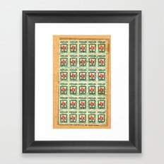 S&H GREEN STAMPS Framed Art Print