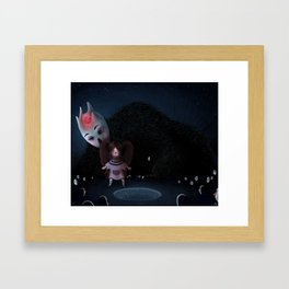 Jena and his nightmare Framed Art Print