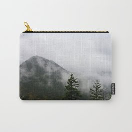 Low Clouds and High Mountains Carry-All Pouch