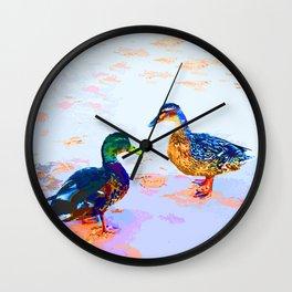 Ducktalk Wall Clock