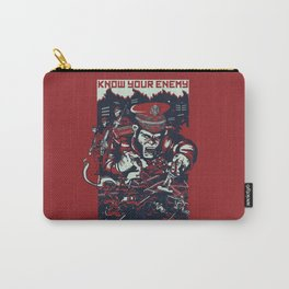 Know your enemy Carry-All Pouch