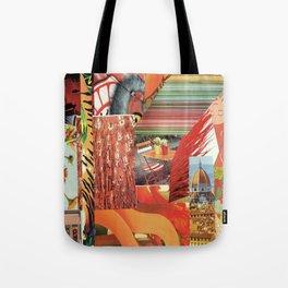 "Collage - ""Orange You Glad'"" Tote Bag"